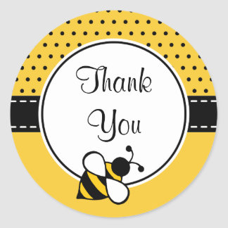 Bee Thank You Stickers