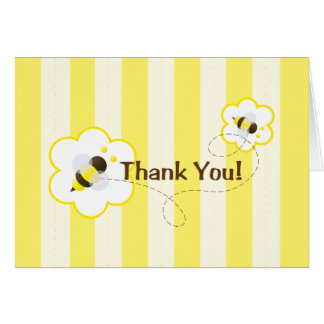 Bee Thankful Note card