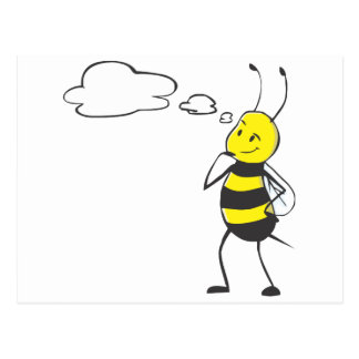 Bee Thinking Post Cards