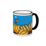 bee trail sunflower mug