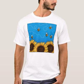 bee trail sunflower shirt