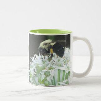 Bee Two-Tone Coffee Mug