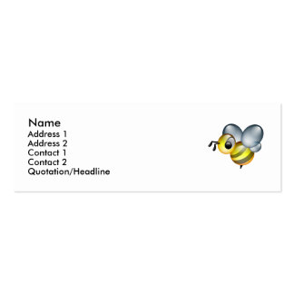 Bee U! Double-Sided Mini Business Cards (Pack Of 20)