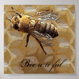 Bee u ti ful poster
