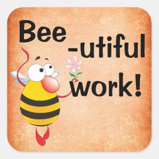Bee-utiful Work Reward Stickers