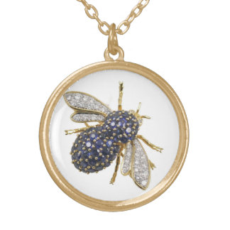 Bee Vintage Costume Jewelry Necklace Charm