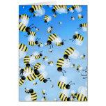 Bee Wallpaper Cards