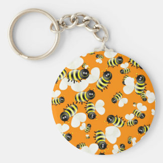 Bee Wallpaper Keychain
