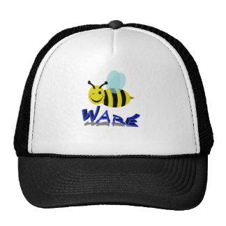 bee ware trucker hat