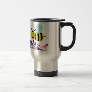 bee ware watchout travel mug