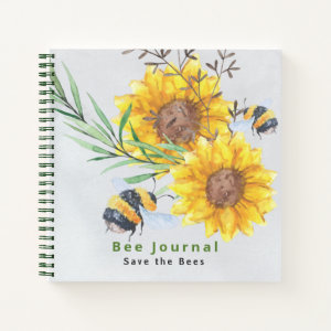 BEE Watching Journal - Bee Keepers and Rescuers
