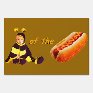 Bee-wear of the Dog sign