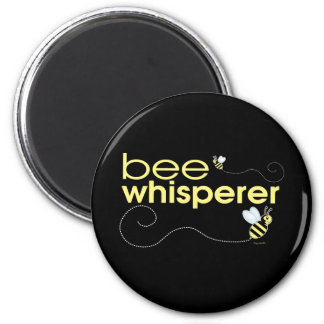 Bee Whisperer 2 Inch Round Magnet