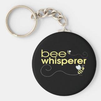 Bee Whisperer Basic Round Button Keychain