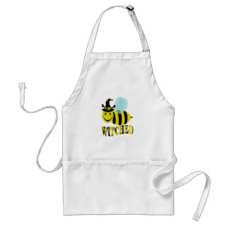 bee witched adult apron