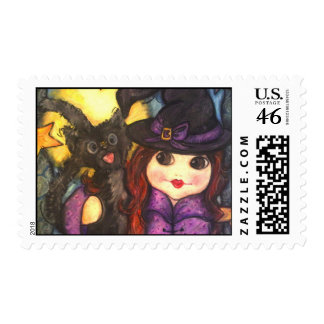 Bee-witching Friends Postage Stamp