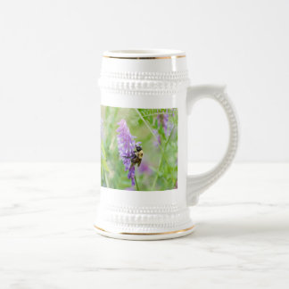 bee with color beer stein