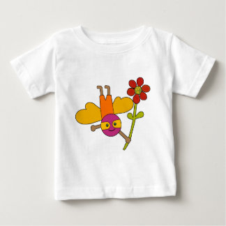 Bee with Flower Tshirts