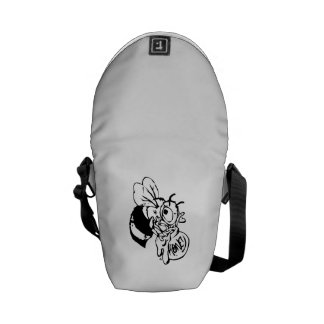 Bee with Honey Messenger Bag