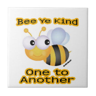Bee Ye Kind Small Square Tile