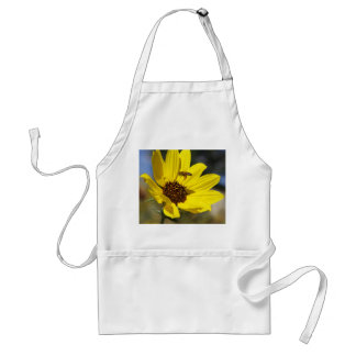 Bee Yellow Flower Adult Apron