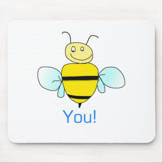 Bee-You. Mouse Pad