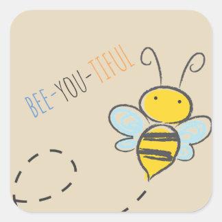 """""""Bee-You-Tiful"""" Sticker"""
