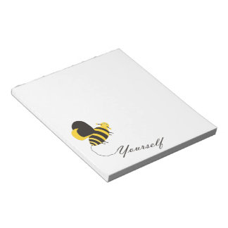 Bee Yourself Note Pad