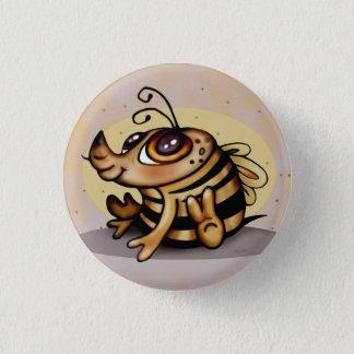 BEEBEE CUTE CARTOON Small, 1¼ Inch Pinback Button