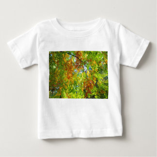 Beech Autumn Leaves. Baby T-Shirt