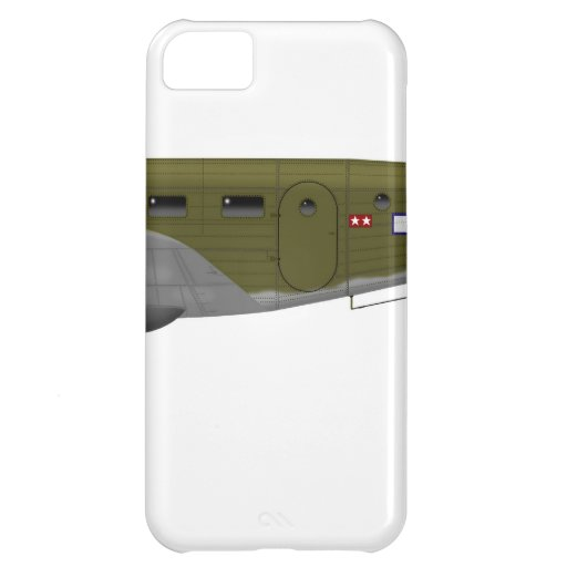 Beech C-45 Expeditor Army Air Corps iPhone 5C Covers