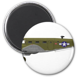 Beech C-45 Expeditor Army Air Corps Magnet
