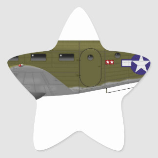 Beech C-45 Expeditor Army Air Corps Star Sticker