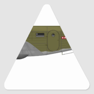 Beech C-45 Expeditor Army Air Corps Triangle Sticker