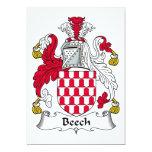 Beech Family Crest Announcements
