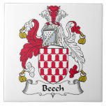 Beech Family Crest Tile