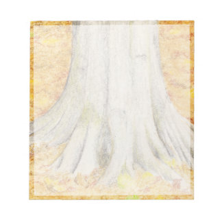 Beech Feet Notepad