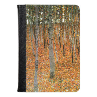 Beech Forest By Gustav Klimt Kindle Case at Zazzle
