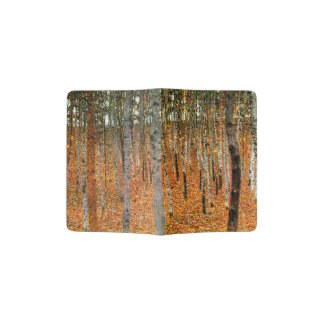 Beech Forest by Gustav Klimt Passport Holder