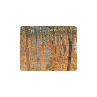Beech Forest by Gustav Klimt Pocket Moleskine Notebook