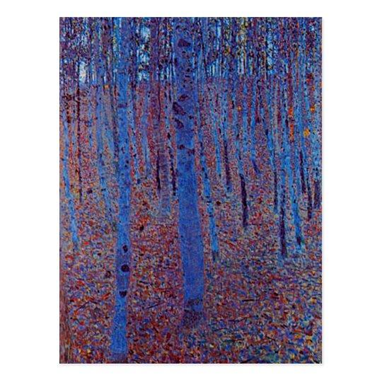 Beech Forest by Gustav Klimt Postcard
