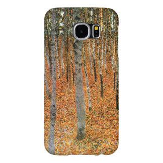 Beech Forest by Gustav Klimt Samsung Galaxy S6 Cases