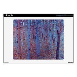 Beech Forest by Gustav Klimt Skin For Laptop