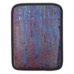 Beech Forest by Gustav Klimt Sleeve For iPads