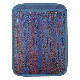 Beech Forest by Gustav Klimt Sleeve For iPads