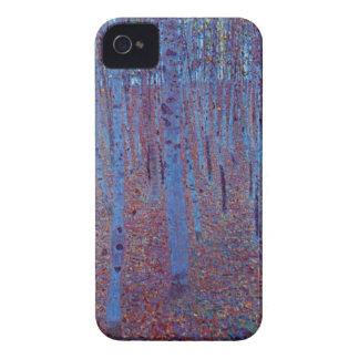 Beech Forest by Gustav Klimt, Vintage Art Nouveau Case-Mate iPhone 4 Case