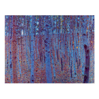 Beech Forest by Gustav Klimt Vintage Art Nouveau Post Cards