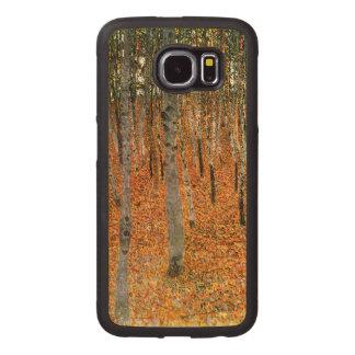 Beech Forest by Gustav Klimt Wood Phone Case