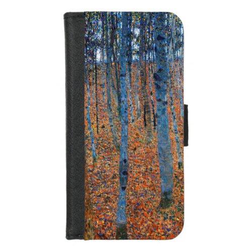 Beech Grove, Gustav Klimt Phone Case