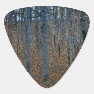 Beech Grove I by Gustav Klimt Guitar Pick